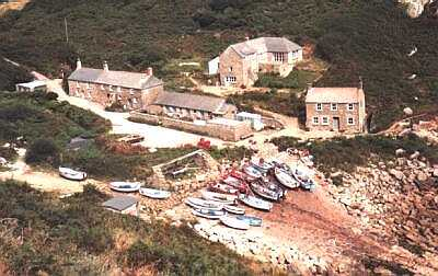 Penberth Cove, Cornwall