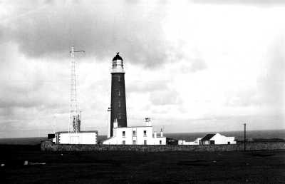 Lighthouse at The Butt of Lewis
